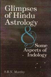 Glimpses of Hindu Astrology and Some Aspects of Indology, S.R.N. Murthy, JUST ARRIVED Books, Vedic Books