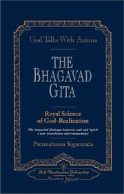 God Talks with Arjuna: Bhagavad Gita (paperback), Paramahansa Yogananda, MASTERS Books, Vedic Books