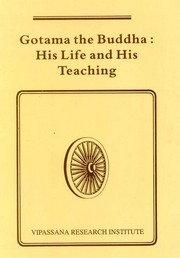 Gotama the Buddha: His Life and His Teaching, , MEDITATION Books, Vedic Books