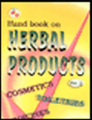 Hand Book of Herbal Products (Medicines, Cosmetics, Toiletries, Perfumes) 2 Vols, NIIR Board, AYURVEDA Books, Vedic Books