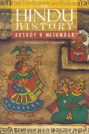 The Hindu History, Akshoy k. Majumdar, MEDITATION Books, Vedic Books
