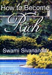 How to Become Rich, Swami Sivananda, MASTERS Books, Vedic Books