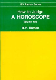 How to Judge a Horoscope (Vol.II), B.V. Raman, DIVINATION Books, Vedic Books