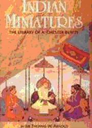 Indian Miniatures, Sir Thomas W. Arnold J.V.S. Wilkinson (ed.), HISTORY Books, Vedic Books