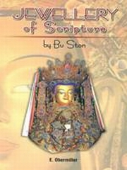 Jewellery of Scripture, Bu Ston, HISTORY Books, Vedic Books