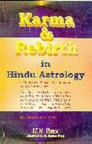 Karma & Rebirth In Hindu Astrology by K N  Rao at Vedic Books