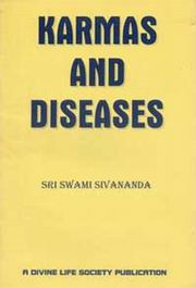 Karma and Diseases, Swami Sivananda, MASTERS Books, Vedic Books
