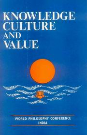 Knowledge, Culture and Value, R.C. Pandeya, JUST ARRIVED Books, Vedic Books