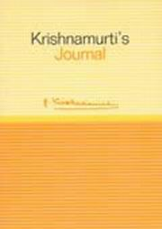 Krishnamurti's Journal, J. Krishnamurti, TRAVEL Books, Vedic Books