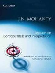Lectures on Consciousness and Interpretation, J.N. Mohanty, EDUCATION Books, Vedic Books