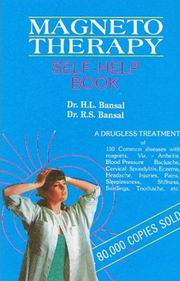 Magneto Therapy, H.L. Bansal, R.S. Bansal, HEALING Books, Vedic Books