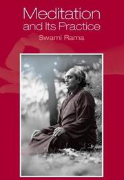 Meditation and Its Practice, Swami Rama, MASTERS Books, Vedic Books
