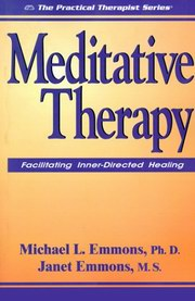 Meditative Therapy, Michael L. Emmons, Janet Emmons, NEW AGE Books, Vedic Books