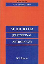 Muhurtha, B.V. Raman, JUST ARRIVED Books, Vedic Books