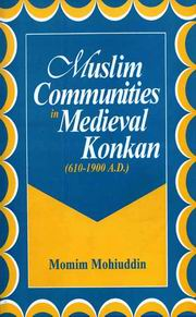 Muslim Communities in Medieval Konkan (610-1900 A.D.), Momin Mohiuddin, HISTORY Books, Vedic Books