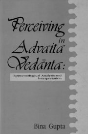 Perceiving in Advaita Vedanta, Bina Gupta, VEDANTA Books, Vedic Books
