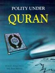 Polity Under Quran by M M R  Khan Afridi at Vedic Books