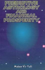 Predictive Astrology and Financial Prosperity, Mahan Vir Tulli, JUST ARRIVED Books, Vedic Books