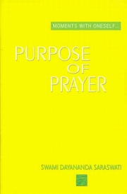 Purpose of Prayer, Swami Dayananda Saraswati, MASTERS Books, Vedic Books