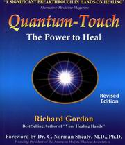 Quantum Touch, Richard Gordon, REIKI Books, Vedic Books