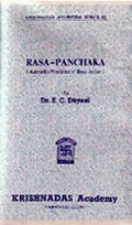 Rasa-Panchaka (Ayurvedic Principles of Drug-Action)