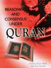 Reasoning and Consensus Under Quran, M.M.R. Khan Afridi, Md. Ilyas Navaid, HISTORY Books, Vedic Books