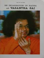 Reincarnation of Radha as Vasantha Sai, Vasantha Sai, MASTERS Books, Vedic Books