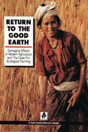 Return to the Good Earth, Third World Network, ORGANIC FARMING Books, Vedic Books