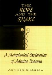 The Rope and the Snake, Arvind Sharma, VEDANTA Books, Vedic Books