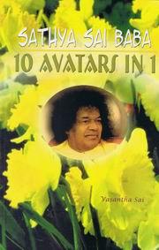 Sathya Sai Baba 10 Avatars in 1 by Vasantha Sai at Vedic BooksSai Kiran Vedic Maths