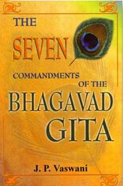 The Seven Commandments of the Bhagavad Gita, J.P. Vaswani, MASTERS Books, Vedic Books