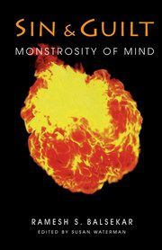 Sin & Guilt: Monstrosity of Mind, Ramesh S. Balsekar, SPIRITUALITY Books, Vedic Books