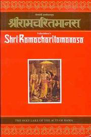 Sri Ramacharitamanasa: The Holy Lake of the Acts of Rama (Compact Edition), R.C.Prasad Ed.& Tr., MASTERS Books, Vedic Books