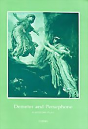 Demeter and Persephone: A Mystery Play, Themis, MASTERS Books, Vedic Books