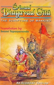 Srimad Bhagavad Gita: The Scripture of Mankind, Tapasyananda, SPIRITUAL TEXTS Books, Vedic Books