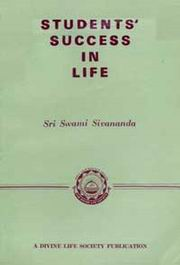 Students Success in Life, Swami Sivananda, CHILDRENS BOOKS Books, Vedic Books