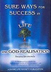 Sure Ways for Success in Life & God-Realisation, Swami Sivananda, MASTERS Books, Vedic Books