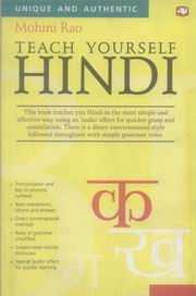 Teach Yourself Hindi, Mohini Rao, JUST ARRIVED Books, Vedic Books