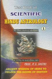 Textbook of Scientific Hindu Astrology (2 Vols.), P S Shastri, JYOTISH Books, Vedic Books