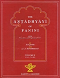 The Astadhyayi of Panini: With translation and Explanatary Notes (Volume X)