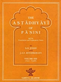 The Astadhyayi of Panini: With translation and Explanatary Notes (Volume XIII)
