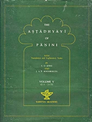 The Astadhyayi of Panini: With translation and Explanatary Notes (Volume V), S.D. Joshi, J.A.F. Roodbergen, SANSKRIT Books, Vedic Books