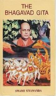 The Bhagavad Gita, Swami Sivananda, JUST ARRIVED Books, Vedic Books