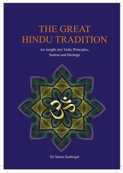 The Great Hindu Tradition, Sri Sarma Sastrigal, HINDUISM Books, Vedic Books
