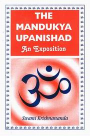 The Mandukya Upanishad: An Exposition, Swami Krishnananda, MASTERS Books, Vedic Books