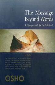 The Message Beyond Words: A Dialogue with the Lord of Death, Osho, INSPIRATION Books, Vedic Books