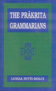 Prakrit Grammarians, L.N. Dolci, Prabhakar Jha, Tr., JUST ARRIVED Books, Vedic Books