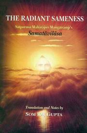 The Radiant Sameness, Som Raj Gupta, SPIRITUALITY Books, Vedic Books