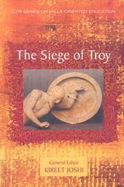 The Siege of Troy, Kireet Joshi, POETRY Books, Vedic Books