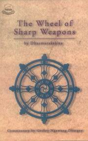 The Wheel of Sharp Weapons, Dharmarakshita, JUST ARRIVED Books, Vedic Books